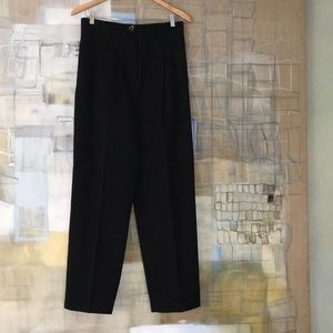 Vintage Black Wool Slacks from Ann Taylor